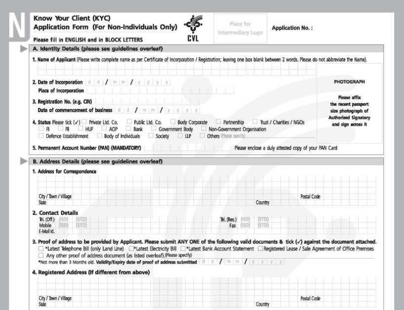 97 Info Kyc Form Law Firm Print Download Pdf