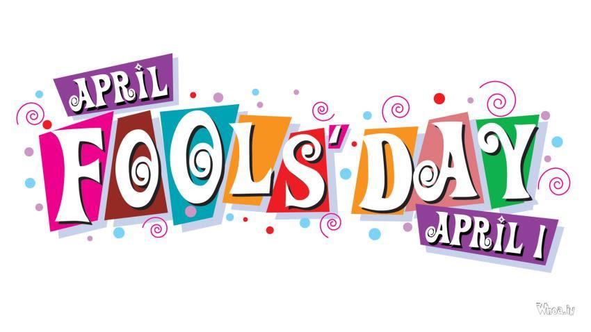 1St April Happy April Fool Day HD Wallpaper