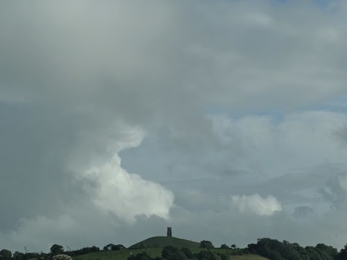 Glastonbury Tor from near Wells