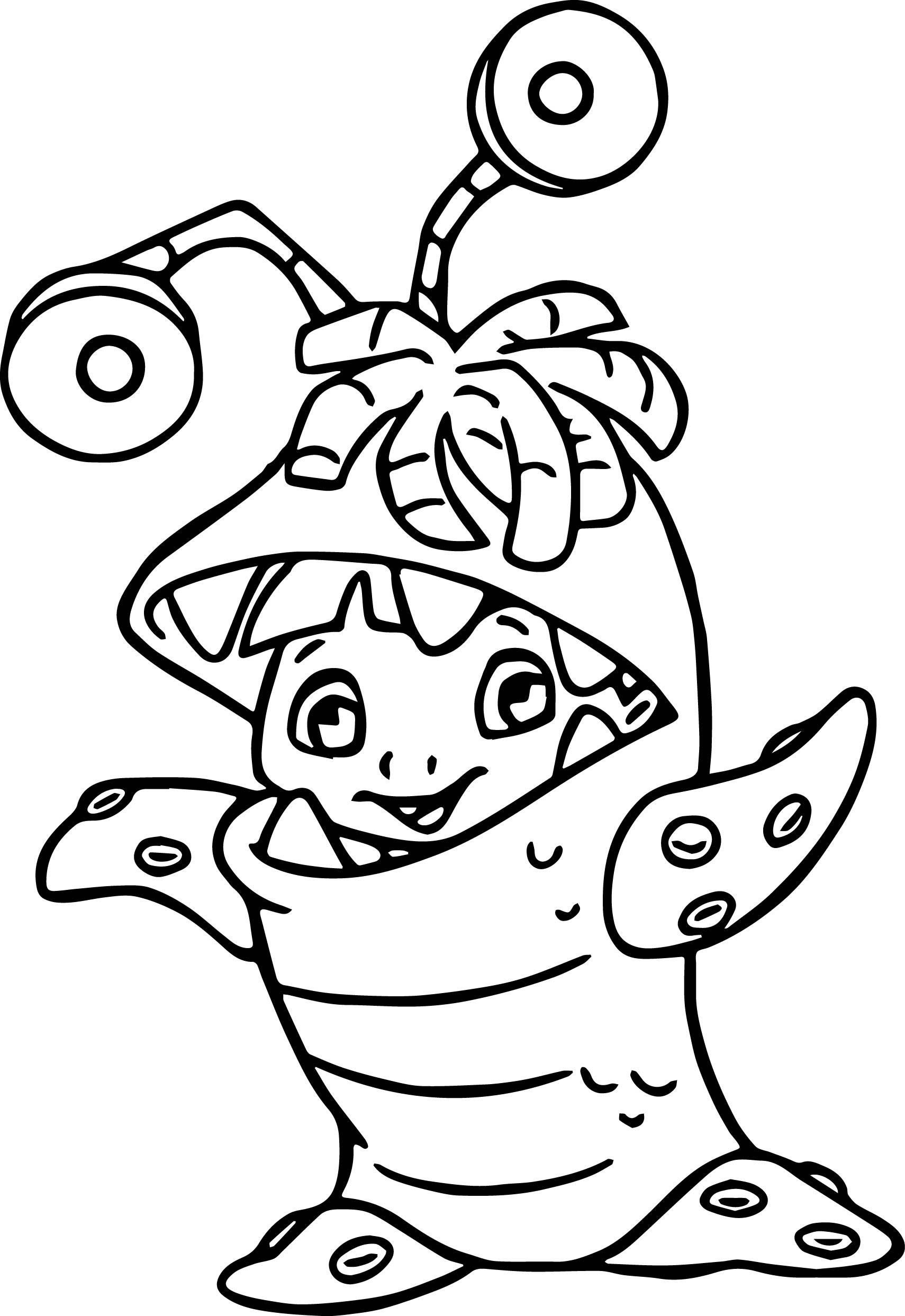 Monsters Inc Drawing At Getdrawingscom Free For Personal Use