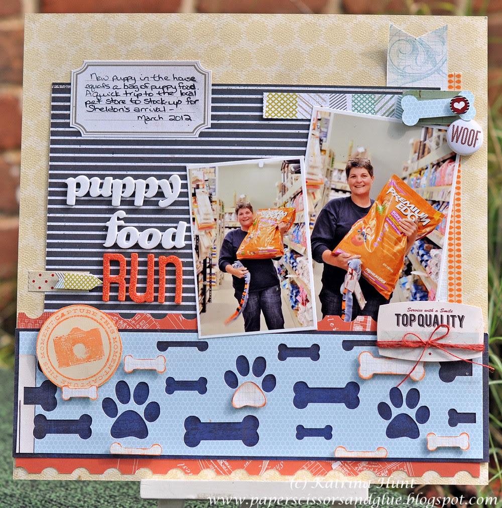 Puppy Food Run-Cocoa Daisy Fun