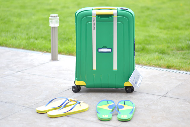 samsonite s'cure spinner 55 cm pr o'sérieux sugar coated press days surprise new in limited edition brasil