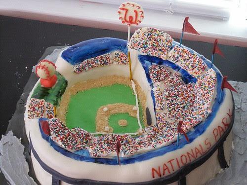 Isaiah's Nats Cake