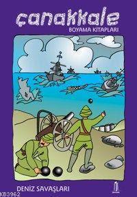 çanakkale Boyama Kitabı Deniz Savaşları Kitap Kibo Katalog