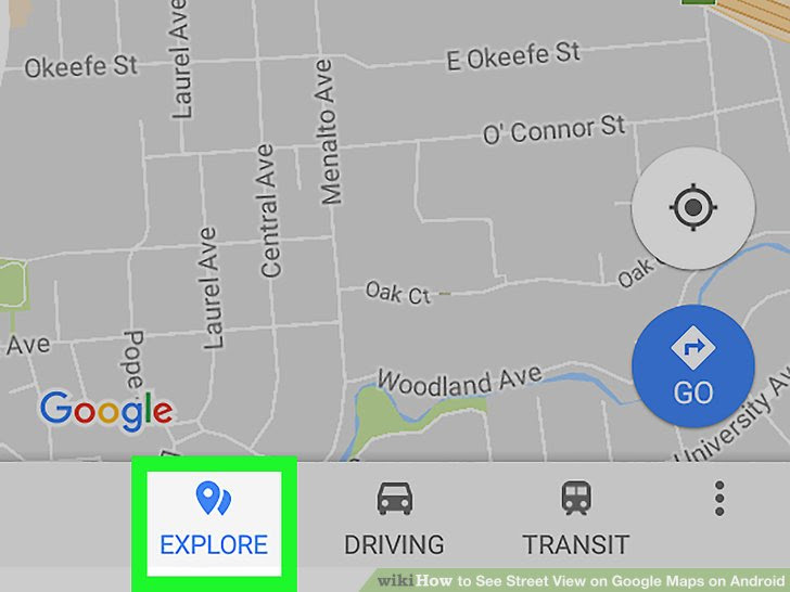 How To See Street View On Google Maps On Android 7 Steps