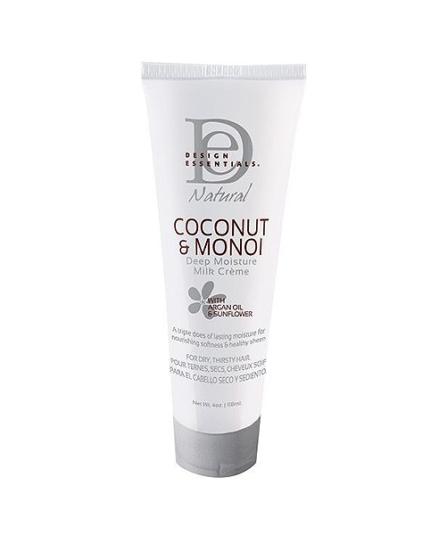 Design Essentials Natural Coconut And Monoi Deep Moisture Milk Creme