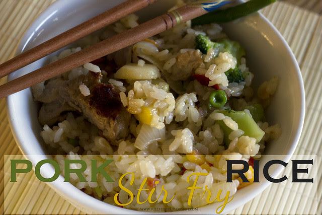 Pork Stir Fry Rice