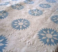 Stuffed quilt, from Storage at DAR Museum, taken by http://ivoryspring.wordpress.com