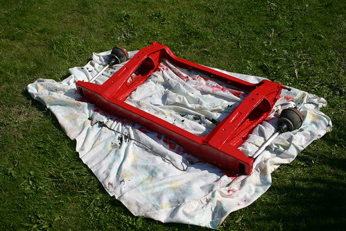 Red subframe
