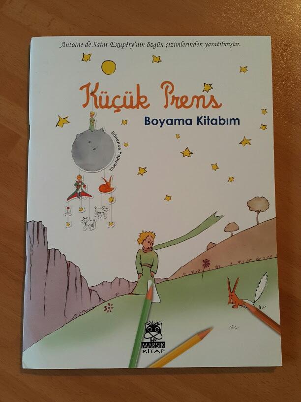 Kitapkurduanne Küçük Prens Boyama Kitabı çocuklar Için Kitap öneri