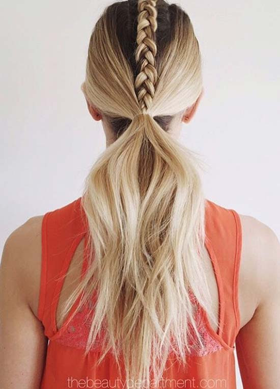 Top 40 Best Sporty Hairstyles for Workout | Fashionisers©
