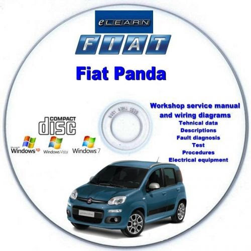 FIAT 500 e FIAT PANDA 2004-2012 manuale HAYNES 5558 nuovo