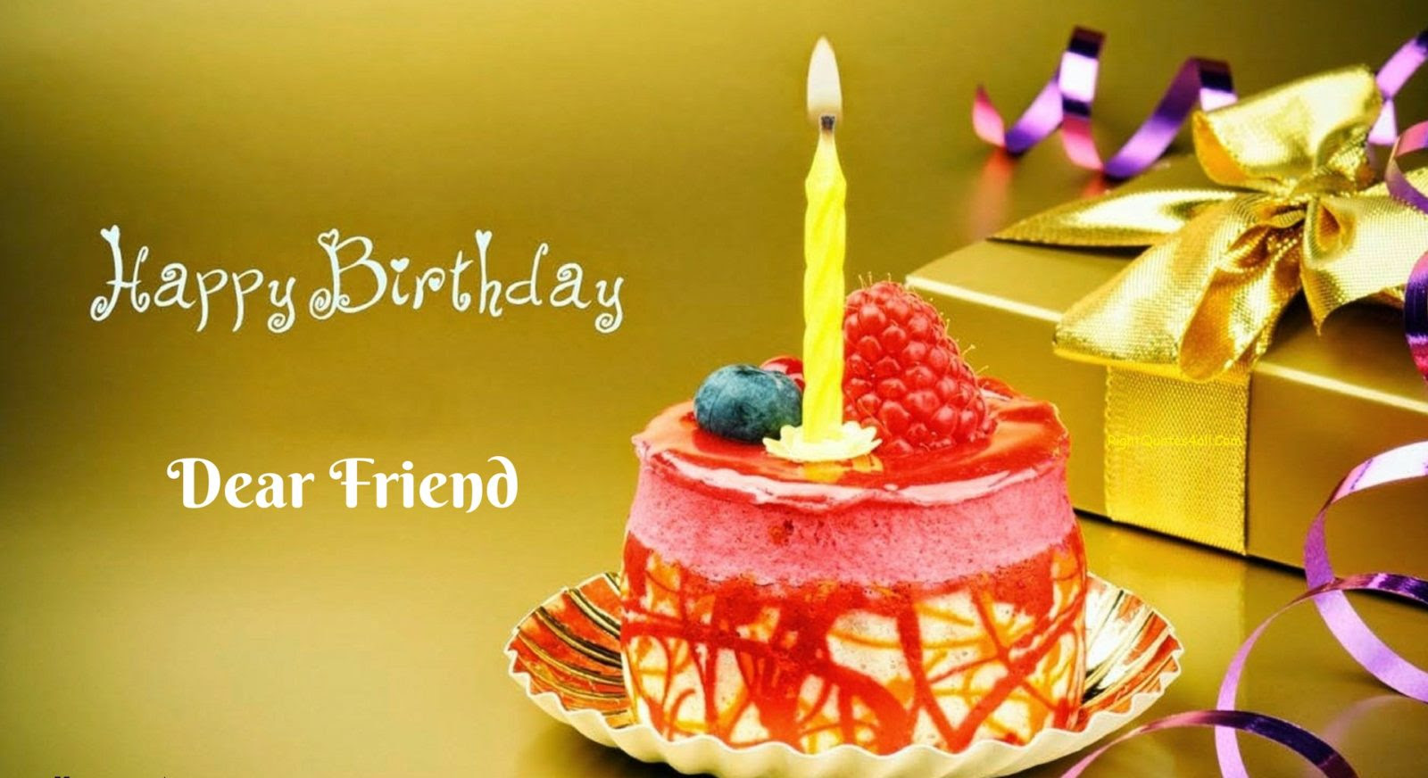 Happy Birthday Wishes For a Friend, Happy Birthday Quotes ...