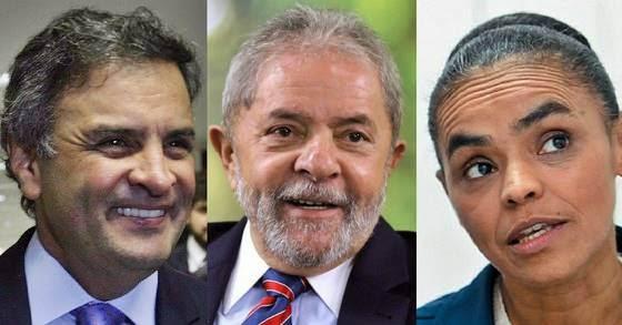 Aecio-Lula-Marina