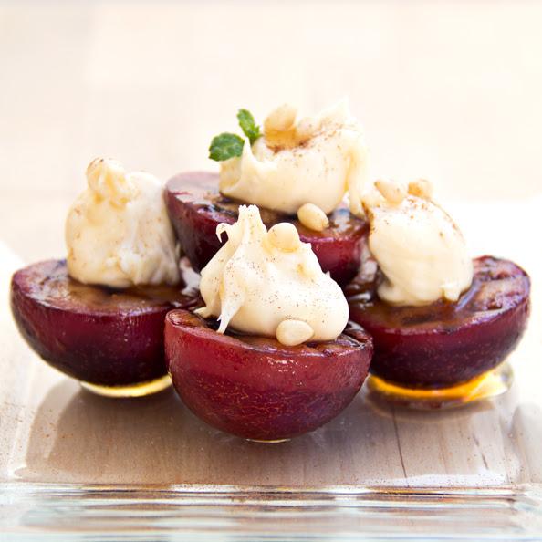 Cozy Cameo: A Plum Pick For Dessert Image