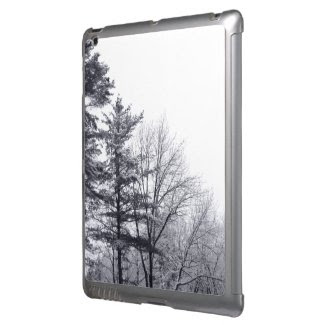 Snow-covered Trees: Vertical Cover For iPad