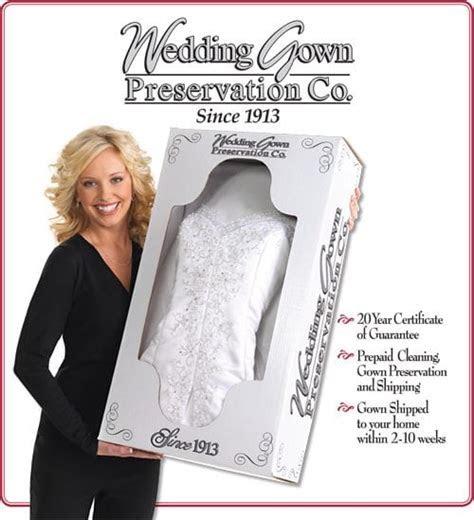 Wedding Gown Preservation Kit   Normans Bridal