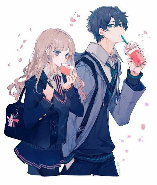 Cute Anime Couple Anime Amino
