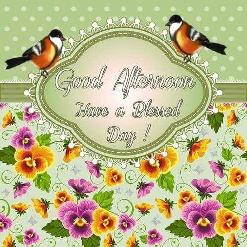 Good Afternoon Have A Blessed Day Pictures Photos And Images For
