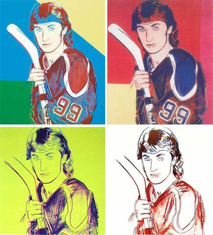 Andy_Warhol_Wayne_Gretzky_4 variations