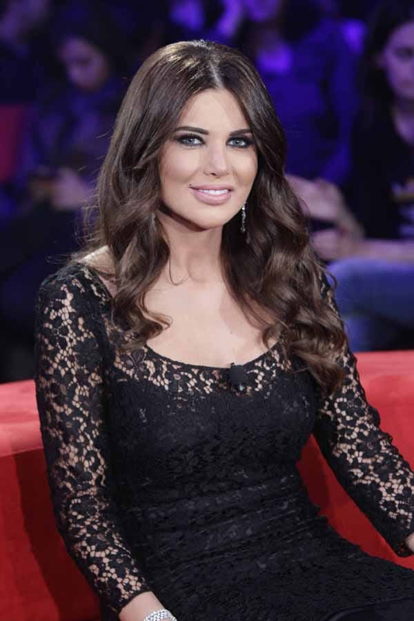 Mona Abou Hamze Lebanese talk Show Host very hot and sexy stills