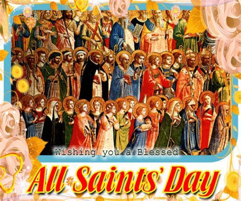 Blessed All Saints? Day Ecard For You. Free All Saints
