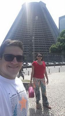 Matheus e a mãe Hete Pereira