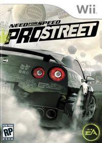 Need for Speed: Pro Street box art.