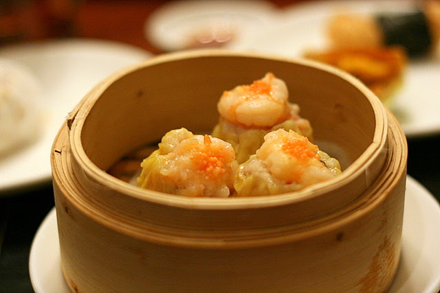 Steamed siew mai with shrimp roe (S$4.80)