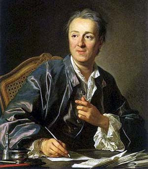 Denis Diderot, author of the Encyclopedia