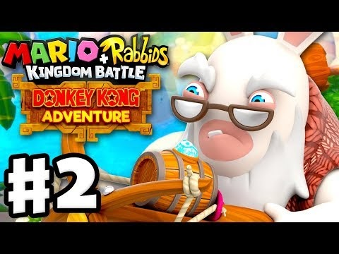 Mario + Rabbids Kingdom Battle: Donkey Kong Adventure DLC - Gameplay