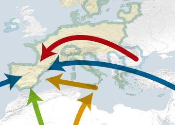 Las rutas hacia España de la trata de personas
