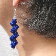 Cellini spiral earrings