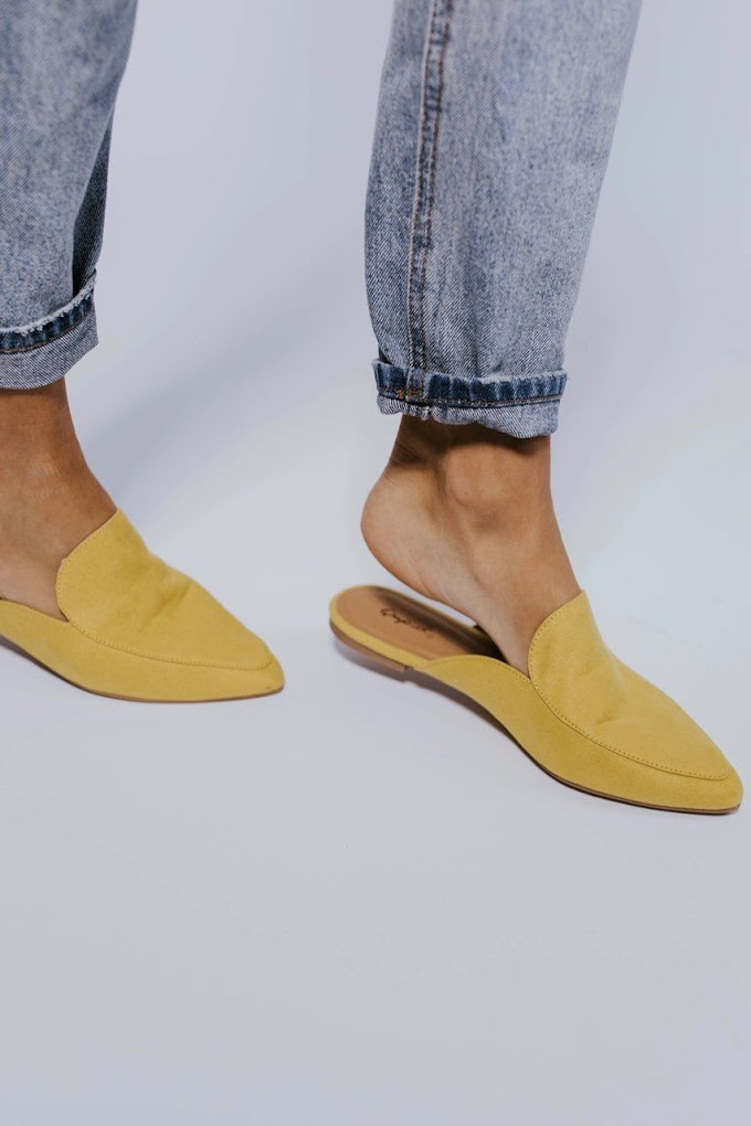Mules - A type of shoe that is growing in popularity