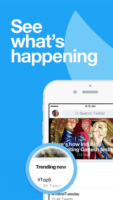 Twitter, l'app ufficiale si aggiorna alla vers 7.10