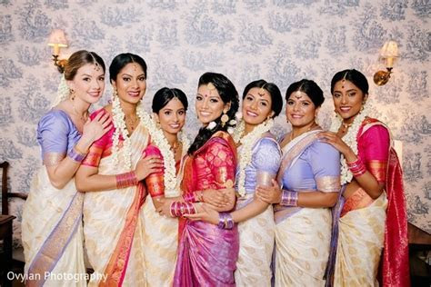 Toronto, Canada South Indian Fusion Wedding by Ovyian