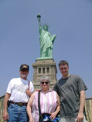 The Walkers and Lady Liberty