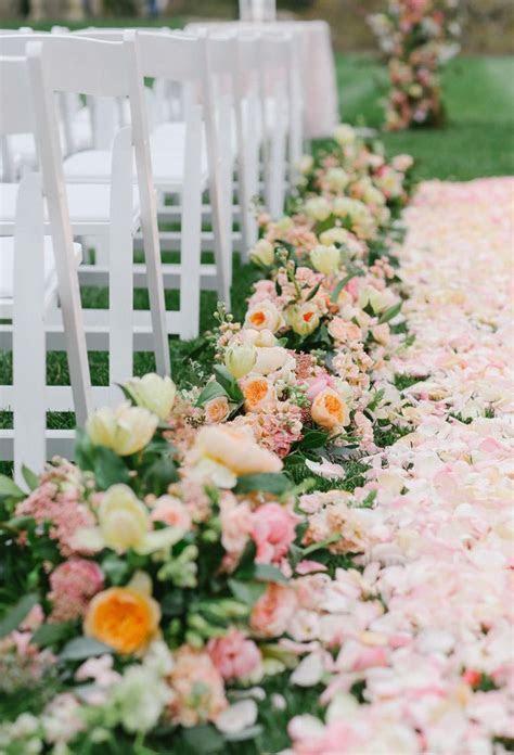 Best 20  Flower Petal Aisle ideas on Pinterest   Rose