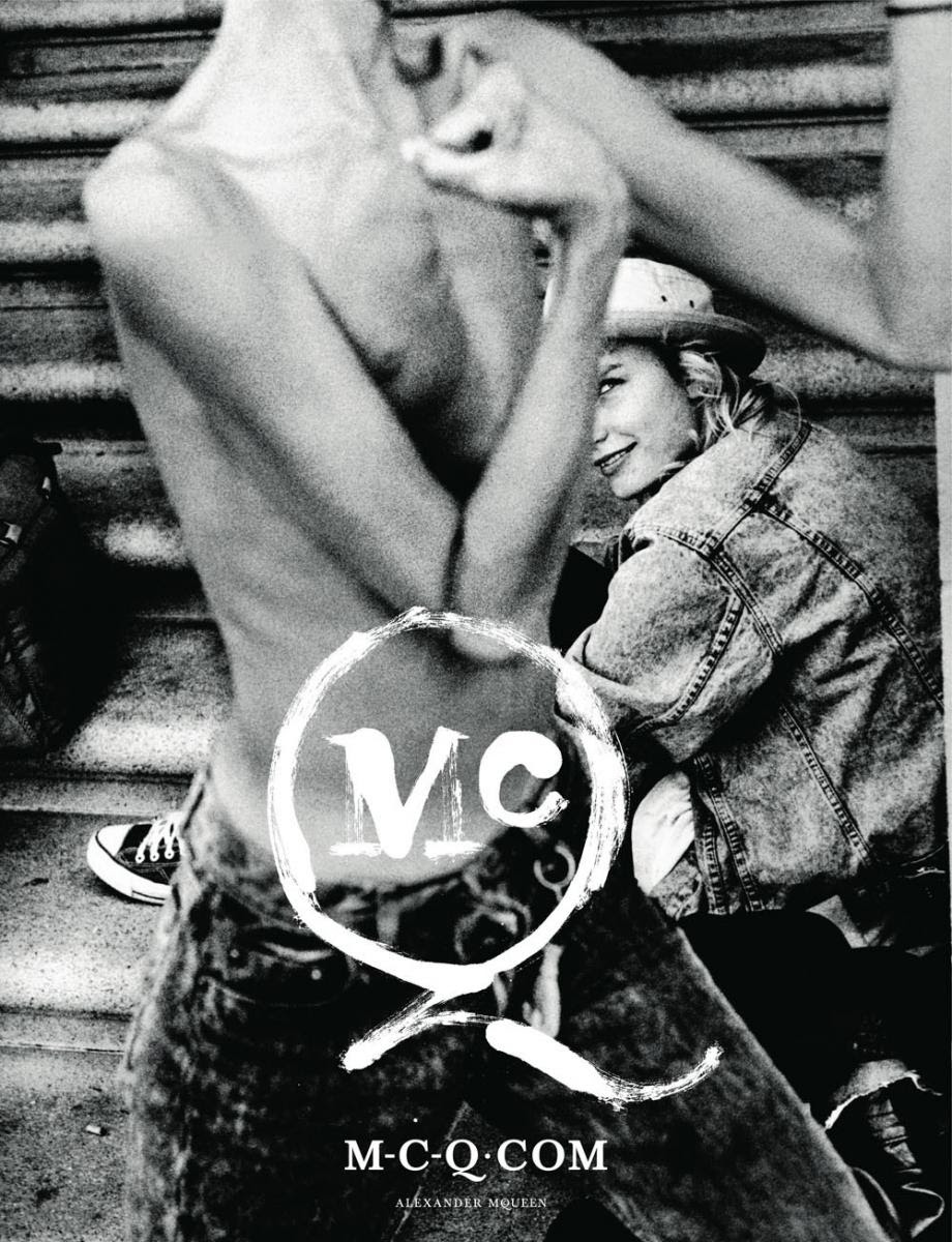 McQ by Alexander McQueen Spring/10 campaign