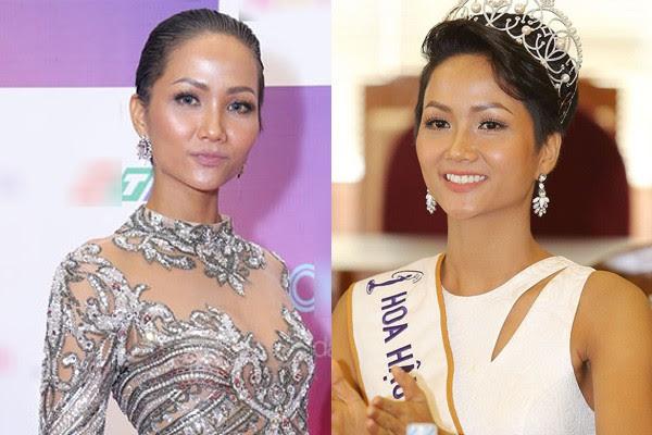 Tân Hoa hậu Hhen Nie nhìn thô cứng như rô bốt chỉ vì kiểu tóc phản chủ - Ảnh 4.