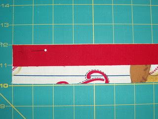 2 sided binding step 1