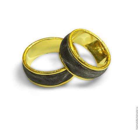 "Engagement rings ""Damascus steel"" gold 585, Damascus"