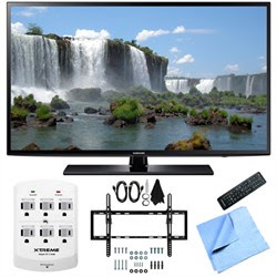 Samsung UN50J6200 - 50-Inch Full HD 1080p 120hz LED HDTV Flat & Tilt Wall Mount Bundle