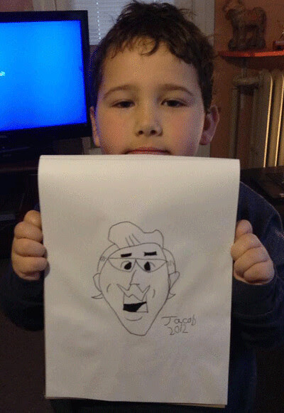 The Portrait of Lodge by a Young Artist