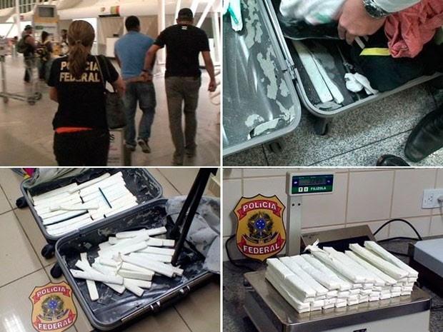 PF divulgou balanço de operações e apreensões de drogas realizadas em 2013 no RN  (Foto: Divulgação/Polícia Federal do RN)
