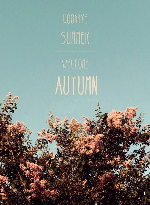 Hello Autumn Quotes