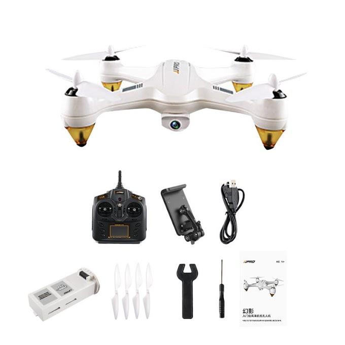 JJRC JJPRO X3 RC Quadcopters Drone GPS 2.4G 6CH Brushless WiFi FPV 1080P RTF Aircraft