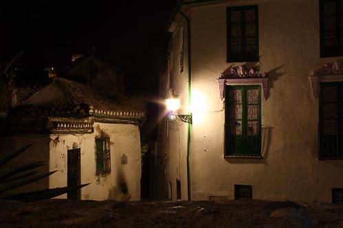 El Albaicín, de noche