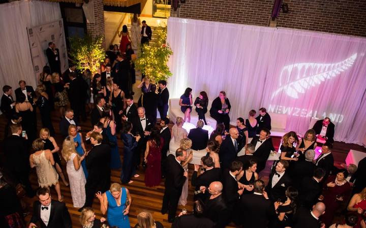 More than 320 people attended the gala in Washington, hosted by NZ ambassador Tim Groser.