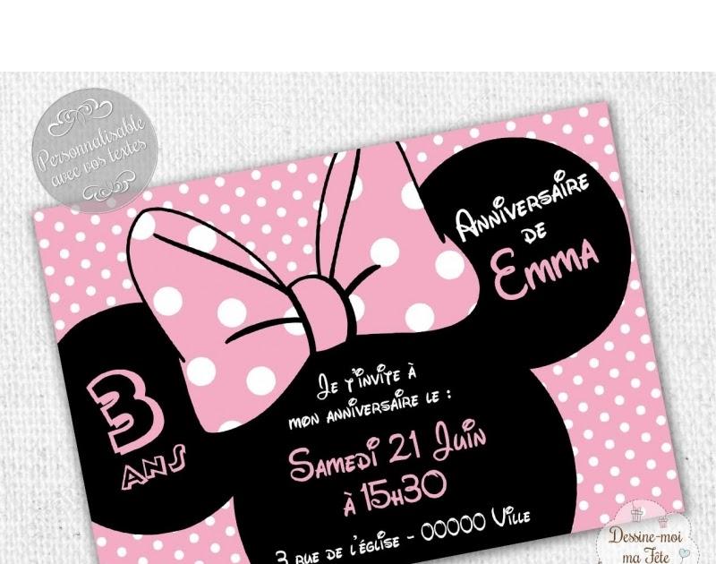 Personnalisé Minnie Mouse Imprimer Anniversaire Anniversaire Cadeau Amour Mot Art?